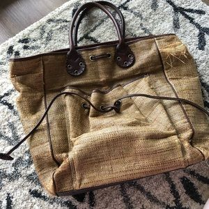 Damaged Burberry London Tote or Baby Bag